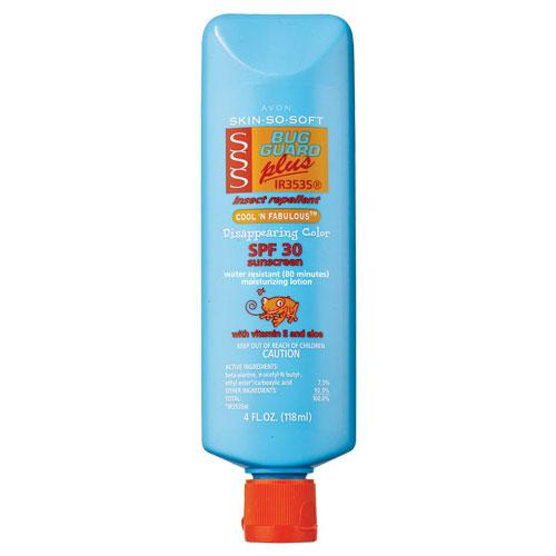 Skin So Soft Bug Guard Plus IR3535® SPF 30 Cool 'n Fabulous Disappearing Color Lotion