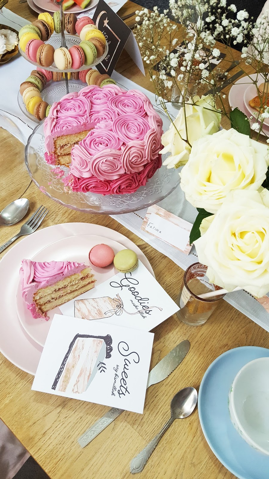 sainsburys roses cake