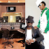 Peter Okoye reacts to his twin replacing his picture with a studio set