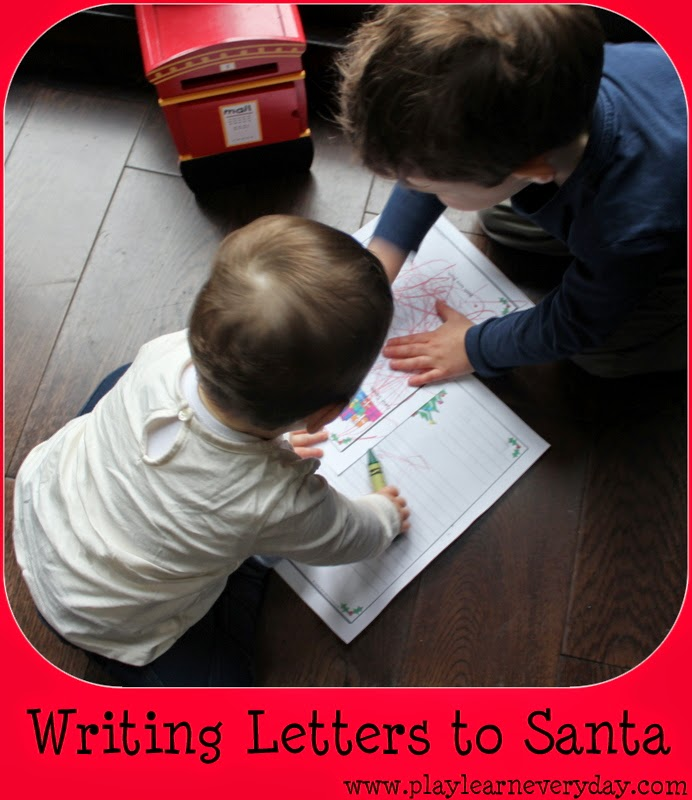 writing a letter to santa play and learn every day