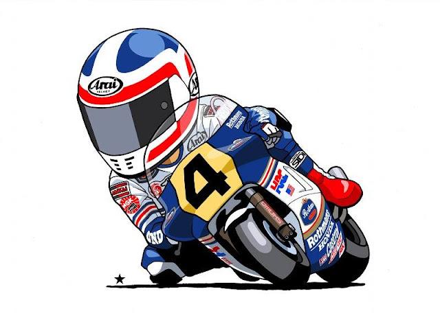 racing caf u00e8 motorcycle art sin terauti 3