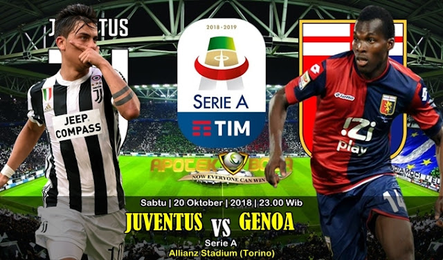 Prediksi Juventus vs Genoa 20 Oktober 2018
