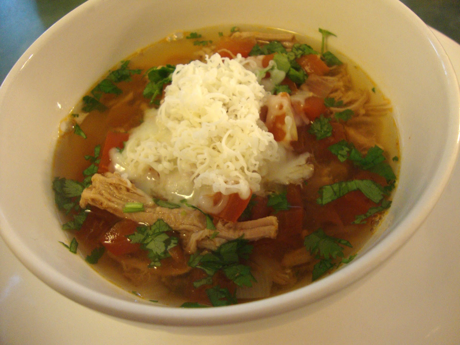 A Busy Mom S Slow Cooker Adventures Shredded Pork Tortilla Soup