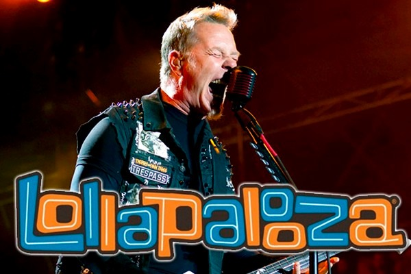 Metallica en vivo en Lollapalooza