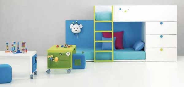 Tempat Tidur Tingkat Untuk Kamar Tidur Anak Laki Laki Dan Perempuan