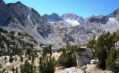 Mountain Range of High Sierra Region