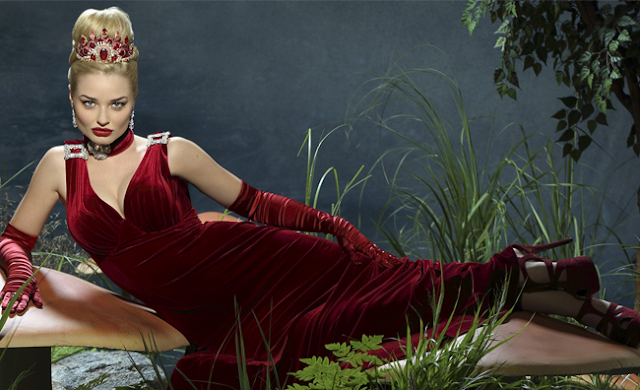 Rainha Vermelha Once Upon a Time in Wonderland