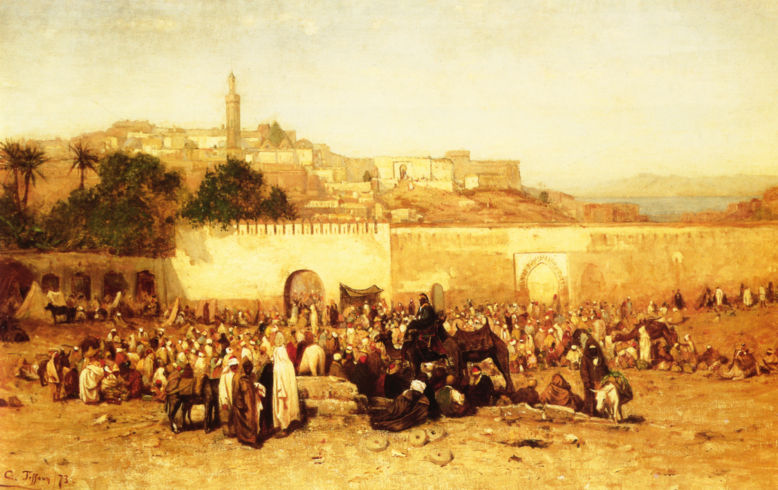New Century Dodge >> 19th century American Paintings: Orientalist Paintings