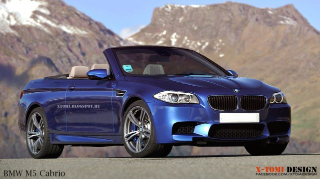2013 Bmw M5 For Sale >> BMW M5 Convertible Rendered