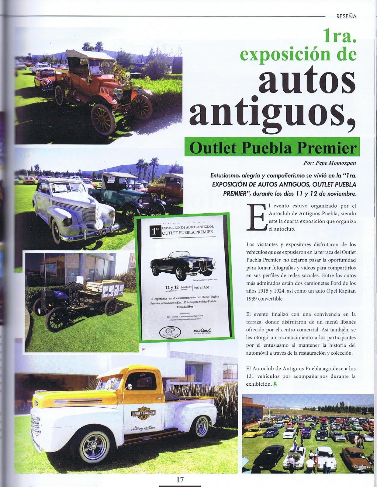 Autoclub De Antiguos Puebla Diciembre 2017