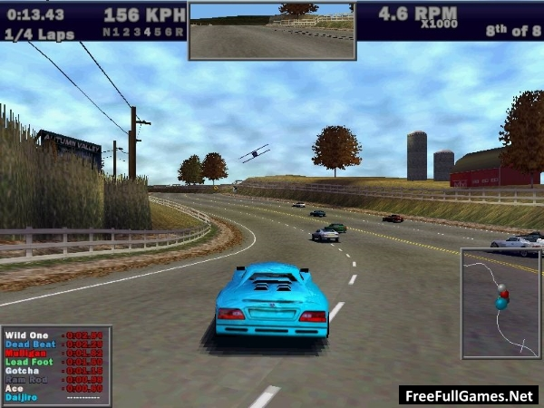 Need for Speed 3 Hot Pursuit (1998) PC Game Free Download Full Version