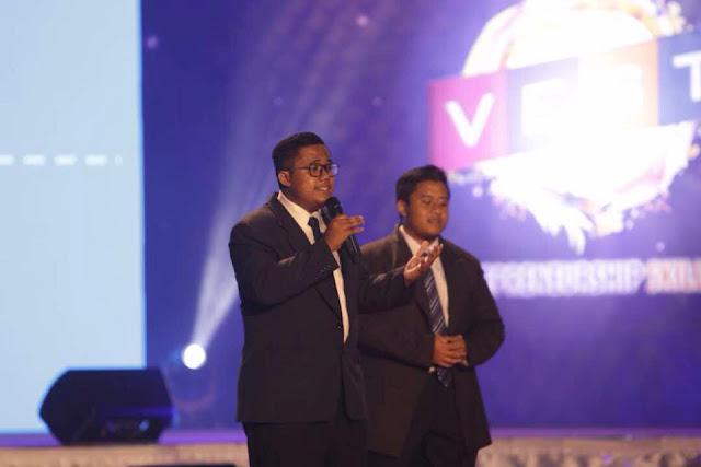 Aktiviti-Business Pitching daripada Top 3 peserta Varsity Entrepeneurship Skill  & Talent (VEST)