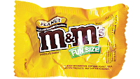 M&Ms Mini pack: 90 calorias