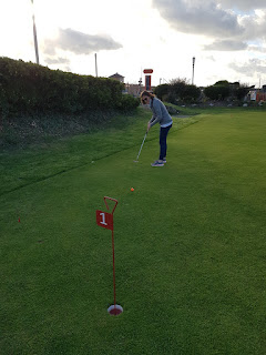 Pennines Putting Mini Golf course at the MiniLinks in Lytham St Annes