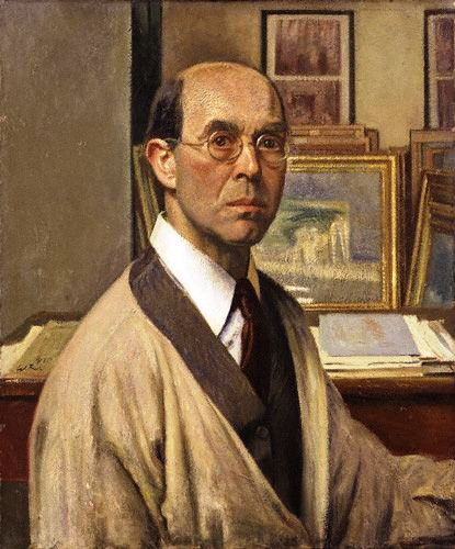 William Rothenstein, Portraits of Painters, Self Portraits