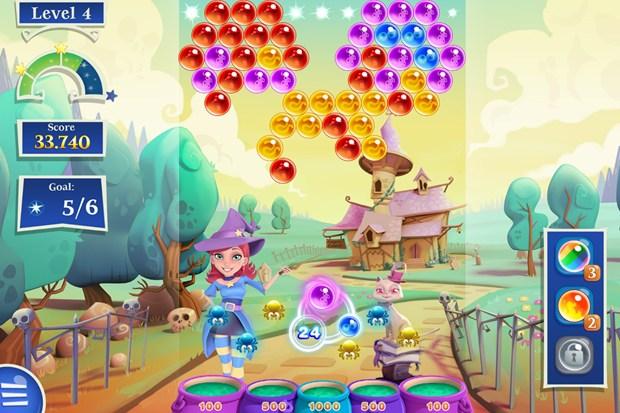 Bubble Witch Saga 2, juegos para niños