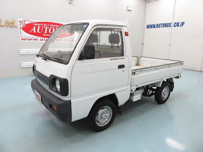 19539T5N8 1990 Suzuki Carry 4WD for USA to Savannah GA