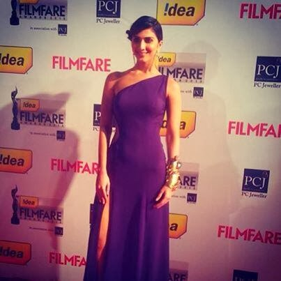 Vani Kapoor at Filmfare Award 2014