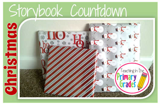 Christmas Storybook Countdown + TPT Super Cyber Sale!