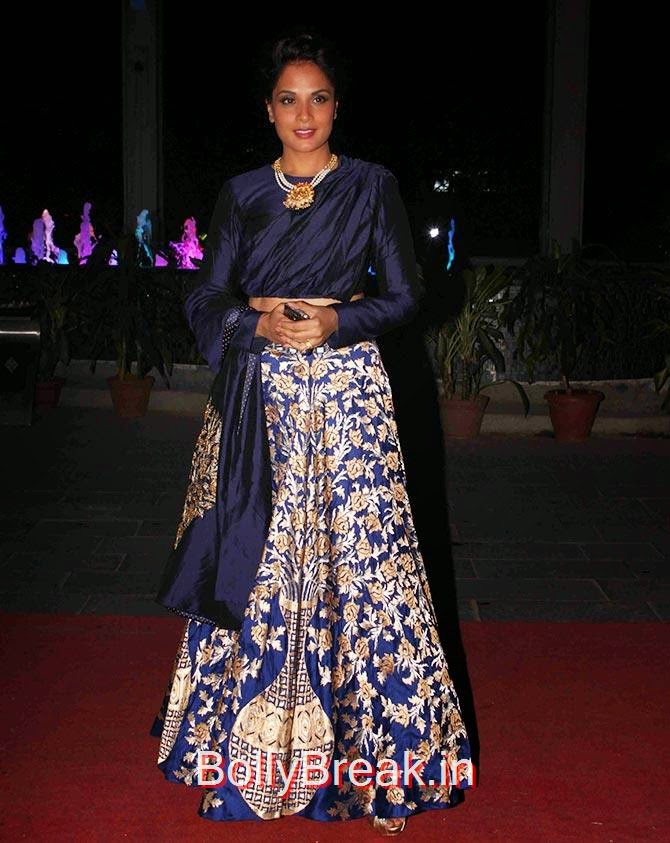 Richa Chadda, Esha, Sridevi, Jacqueline, Sonali at Tulsi Kumar's wedding Reception