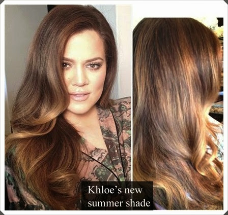warm chocolate hair color and rose gold bayalage highlights