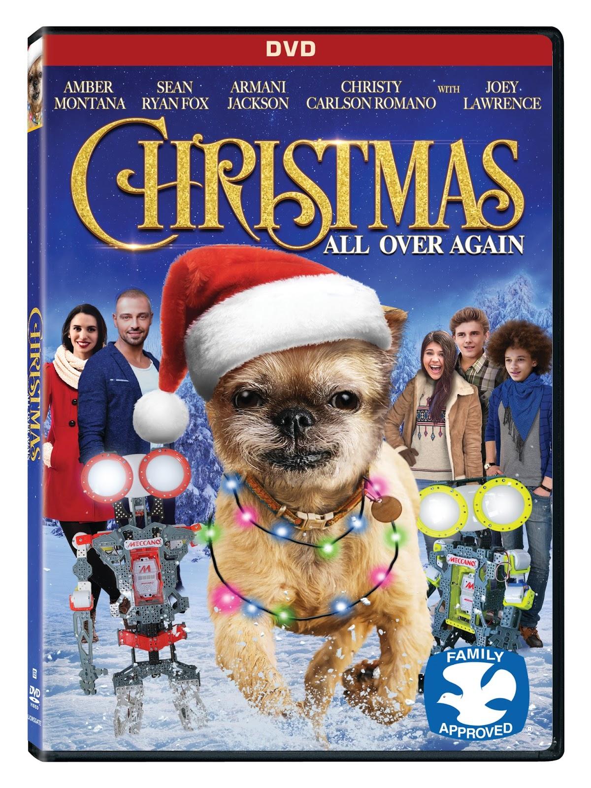 Susan\'s Disney Family: Christmas All Over Again Available on DVD, On ...