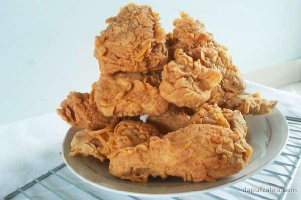 cara membuat ayam kfc renyah dan gurih
