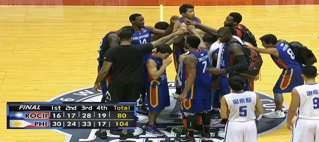 Mighty Sports PHL def. Taipei-B, 104-80, sweeps Jones Cup 2016 (REPLAY VIDEO)
