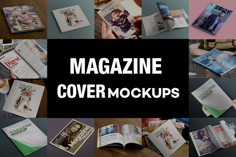 55 Free Magazine Mockups Psd For Product Presentation