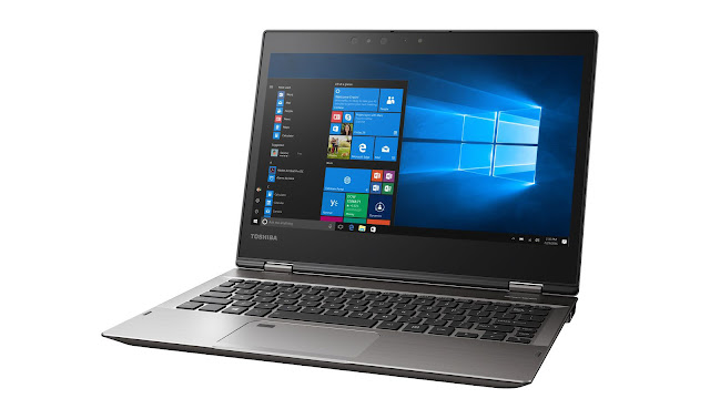 CES 2017: Toshiba Protégé X20W - laptop lai mới nhất của Toshiba