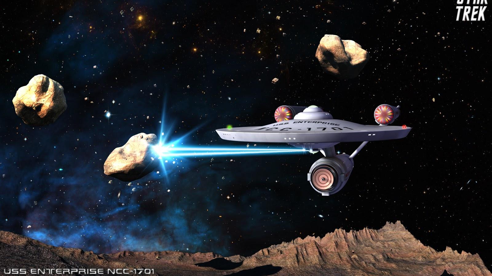 Asteroids 3d Live Wallpaper For Pc Star Trek Sci Fi Blog U S S Enterprise Ncc 1701