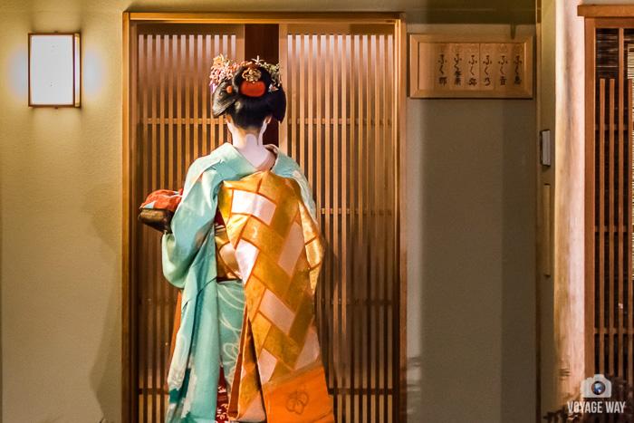maiko de dos, Gion, Kyoto