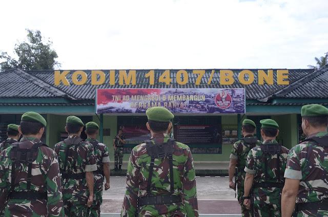Gelar Minggu Militer, Ini yang Dilakukan Kodim 1407/Bone