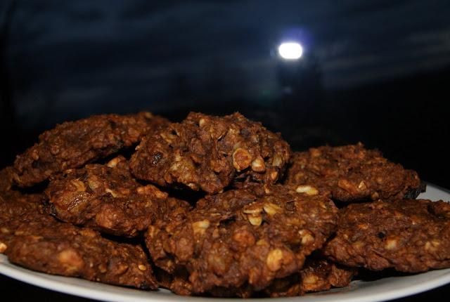 owsiane ciasteczka z dynią
