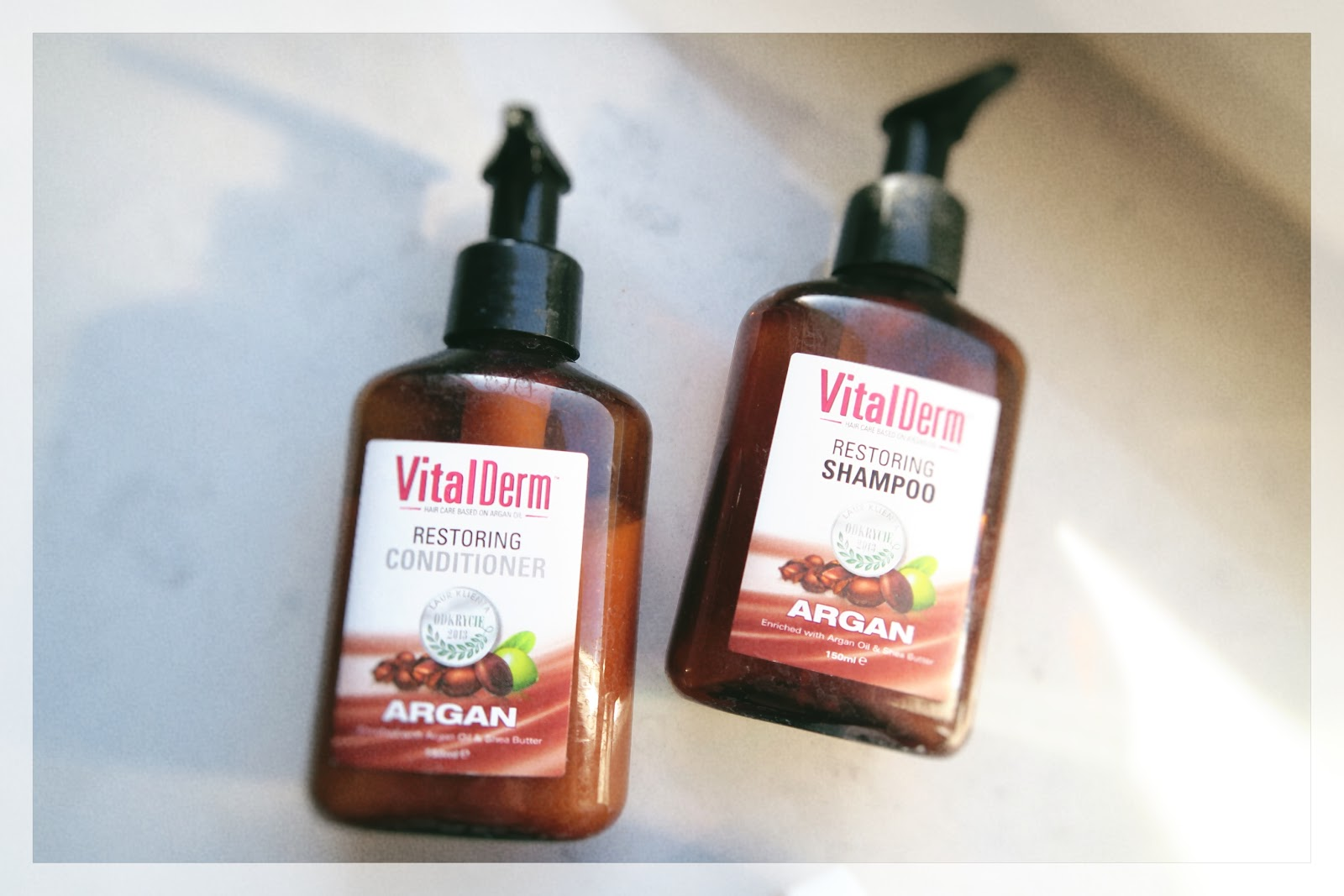 Vital Derm Restoting Shampoo Conditioner Argan