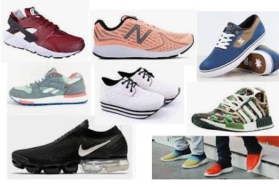 outlet sepatu adidas, nike, converse original Bandung