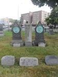 Familiengrab Hugo Wesendonck - Green-Wood Cemetery Brookly, N. Y.