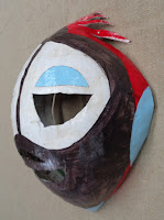 verna vogel mask-making workshop