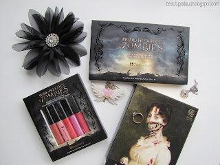 BH Cosmetics - Pride + Prejudice + Zombies Eye + Cheek Palette; Pride + Prejudice + Zombies Lip Gloss Collection