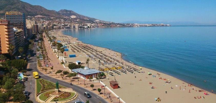 Playas de Fuengirola, Málaga