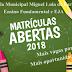 ESCOLA MIGUEL LULA DE FARIAS AMPLIA NÚMERO DE VAGAS PARA EJA