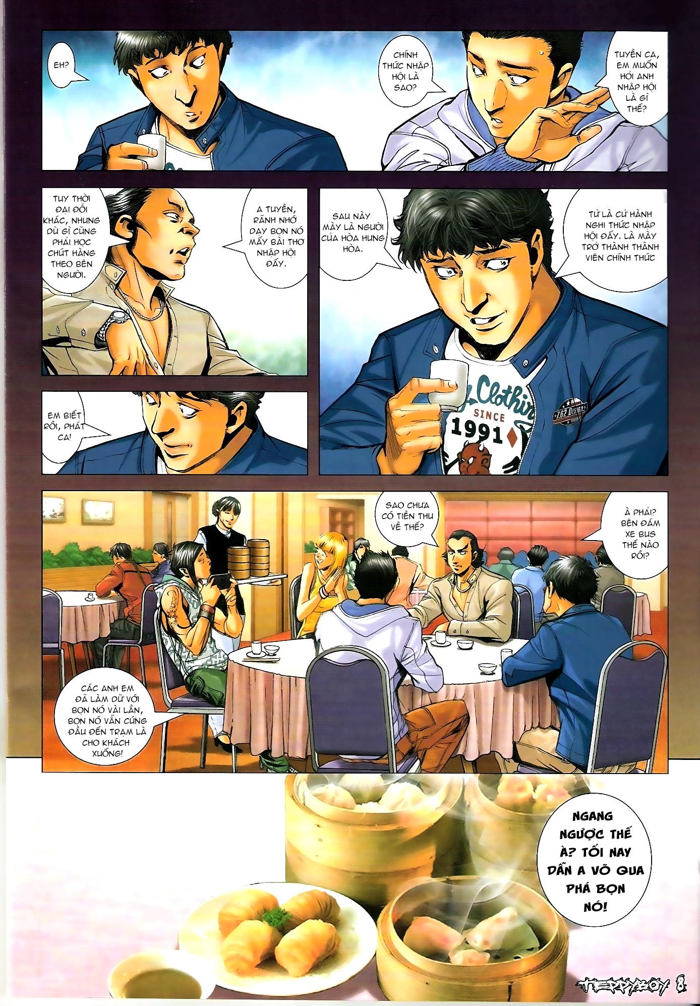 Người Trong Giang Hồ - Chapter 1287: Tung tích của Đại Phi - Pic 7