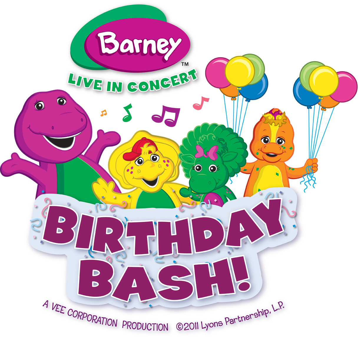 Giveaway: Family 4-Pack to Barney Live in Concert – Birthday