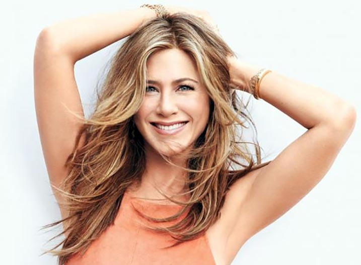 Jennifer Aniston Fringe Hairstyles