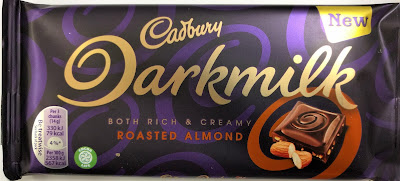 Cadbury darkmilk roasted almond