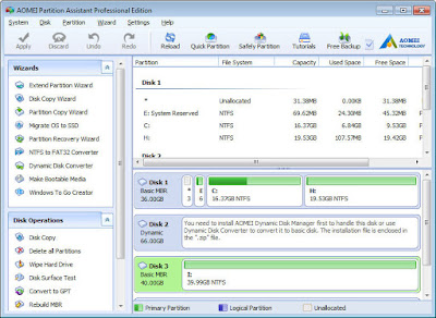 download partition manager, partition magic pro download, partition manager download, download partition software, download AOMEI Partition Assistant Pro