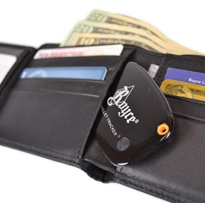 Royce Leather Wallet GPS Tracker