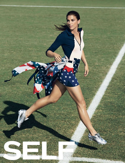 Alex Morgan – Self Magazine