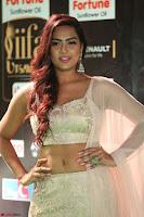 Prajna Actress in backless Cream Choli and transparent saree at IIFA Utsavam Awards 2017 0071.JPG