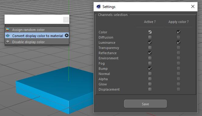 safina3d: c4d plugin - Random Color